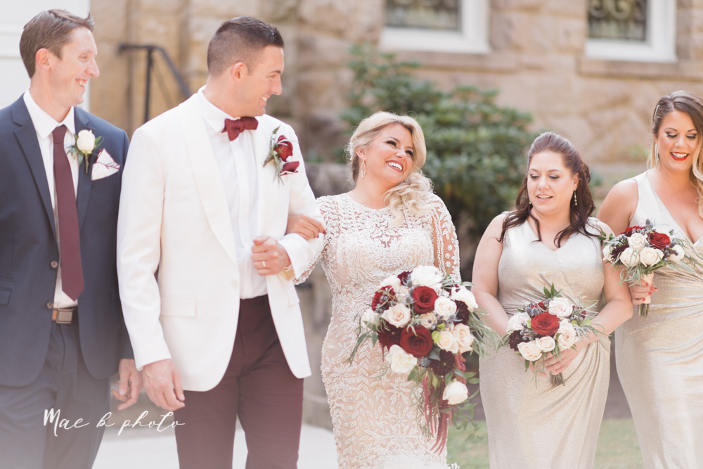 paige and cale's 1920s gatsby glam summer wedding at poland presbyterian church in poland ohio and mr anthony's banquet center in boardman ohio photographed by youngstown wedding photographer mae b photo-63.jpg