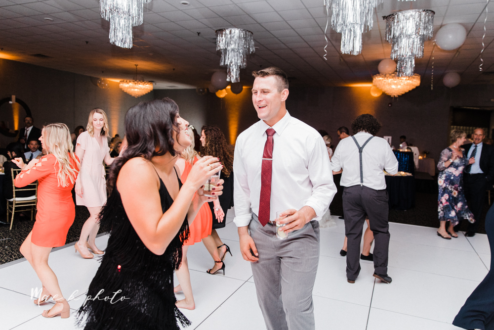 paige and cale's 1920s gatsby glam summer wedding at poland presbyterian church in poland ohio and mr anthony's banquet center in boardman ohio photographed by youngstown wedding photographer mae b photo-170.jpg