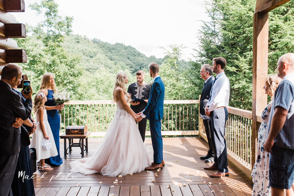 jess and donny's adventurous intimate summer cabin elopement in hocking hills state park in rockbridge ohio photographed by youngstown wedding photographer mae b photo-72.jpg
