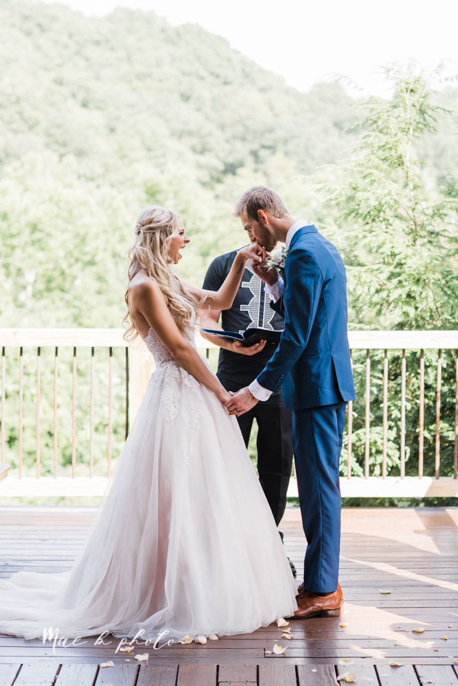 jess and donny's adventurous intimate summer cabin elopement in hocking hills state park in rockbridge ohio photographed by youngstown wedding photographer mae b photo-77.jpg