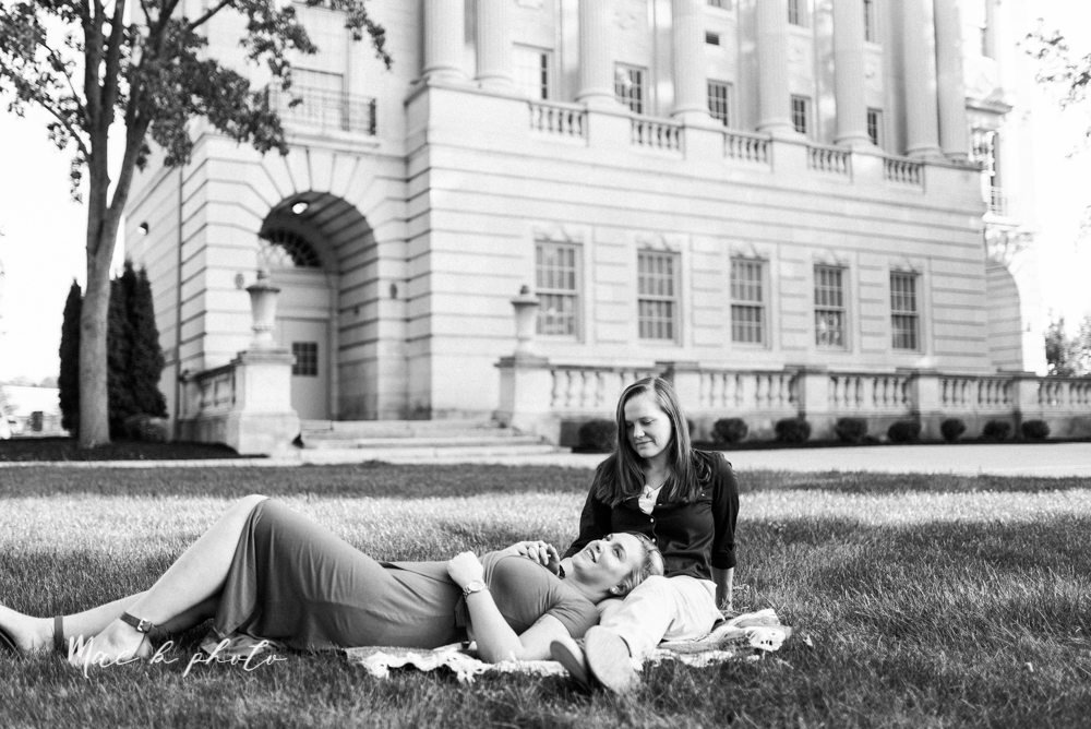 megan and angie's hometown summer engagement session in downtown warren ohio photographed by youngstown wedding photographer mae b photo-2.jpg