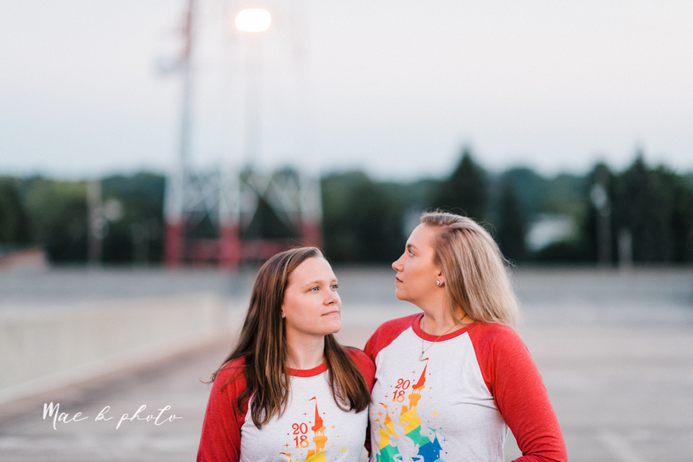 megan and angie's hometown summer engagement session in downtown warren ohio photographed by youngstown wedding photographer mae b photo-40.jpg