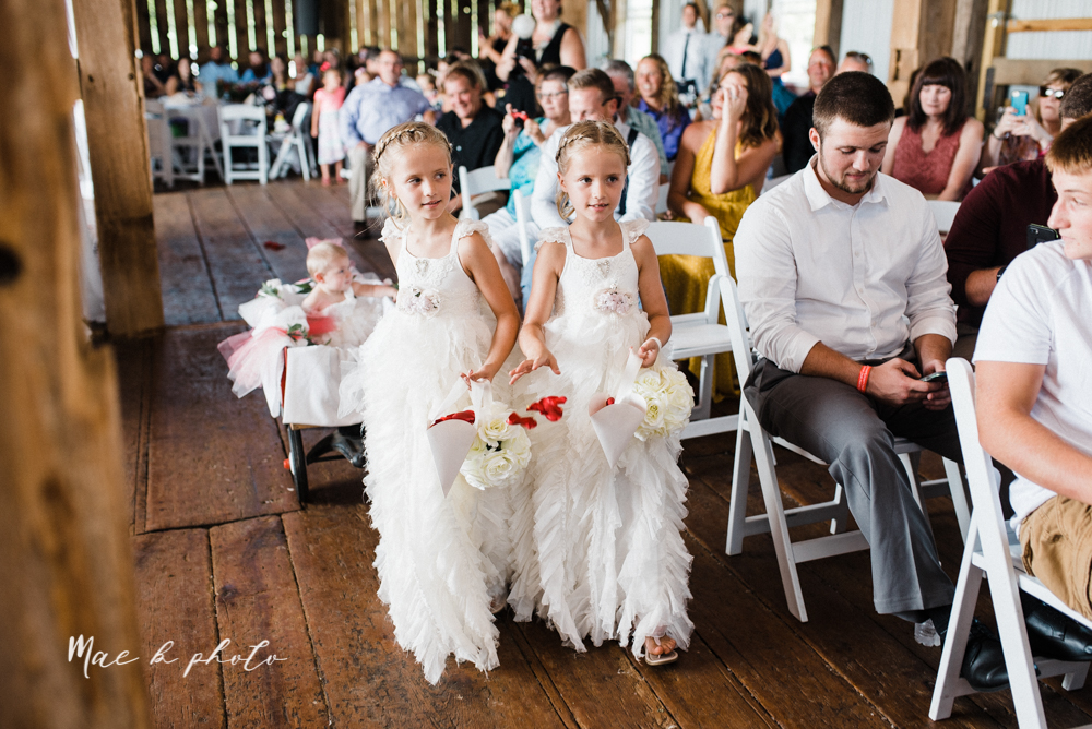 chelsea and jared's simple and elegant rustic barn wedding at my wish weddings in new springfield ohio photographed by youngstown wedding photographer mae b photo-34.jpg
