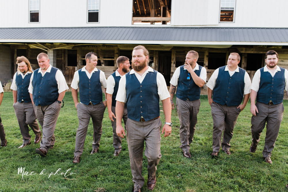 chelsea and jared's simple and elegant rustic barn wedding at my wish weddings in new springfield ohio photographed by youngstown wedding photographer mae b photo-77.jpg