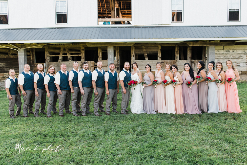 chelsea and jared's simple and elegant rustic barn wedding at my wish weddings in new springfield ohio photographed by youngstown wedding photographer mae b photo-78.jpg