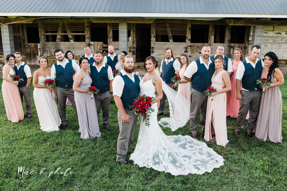chelsea and jared's simple and elegant rustic barn wedding at my wish weddings in new springfield ohio photographed by youngstown wedding photographer mae b photo-79.jpg