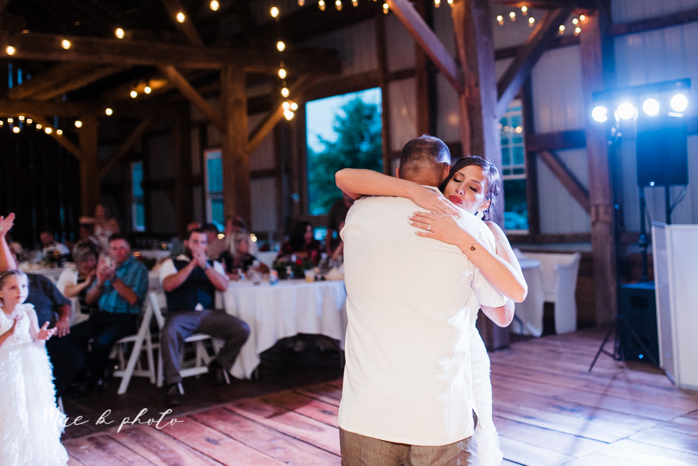 chelsea and jared's simple and elegant rustic barn wedding at my wish weddings in new springfield ohio photographed by youngstown wedding photographer mae b photo-150.jpg