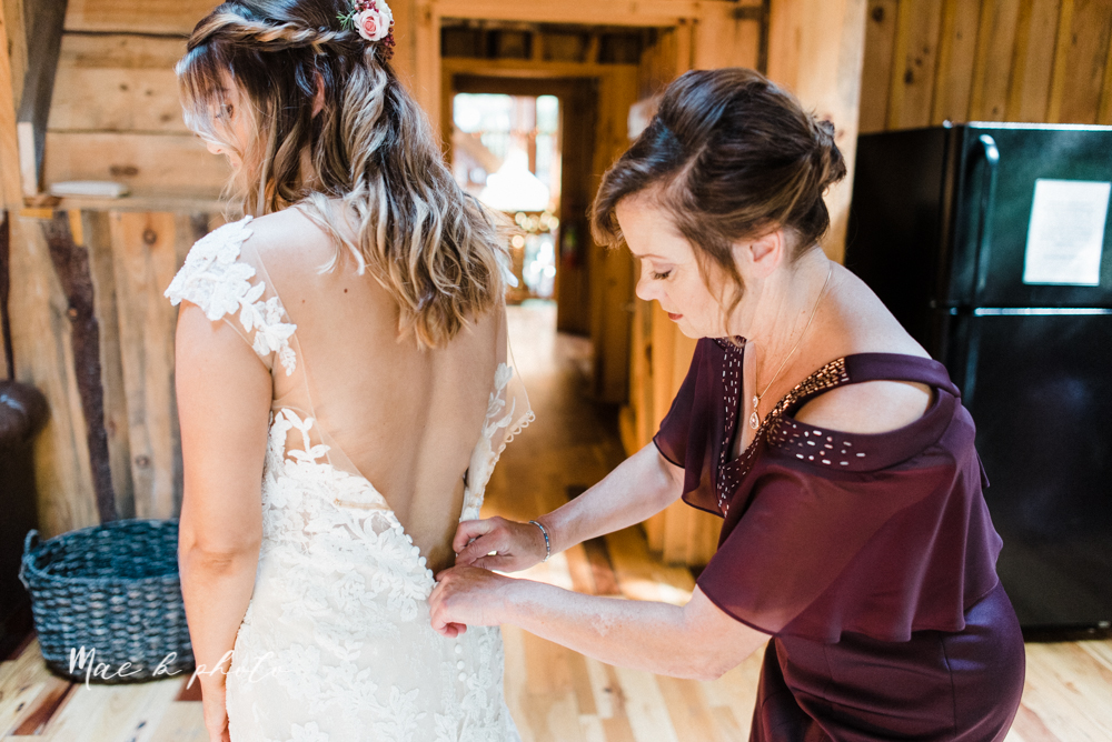 lauren and steve's romantic elegant sophisticated middle of the woods summer barn wedding at the grand barn event center in the mohicans in glenmont ohio photographed by youngstown wedding photographer mae b photo-17.jpg