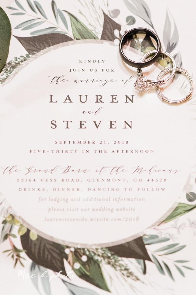 lauren and steve's romantic elegant sophisticated middle of the woods summer barn wedding at the grand barn event center in the mohicans in glenmont ohio photographed by youngstown wedding photographer mae b photo-100.jpg