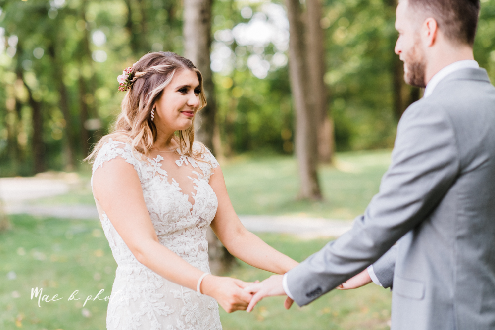 lauren and steve's romantic elegant sophisticated middle of the woods summer barn wedding at the grand barn event center in the mohicans in glenmont ohio photographed by youngstown wedding photographer mae b photo-34.jpg