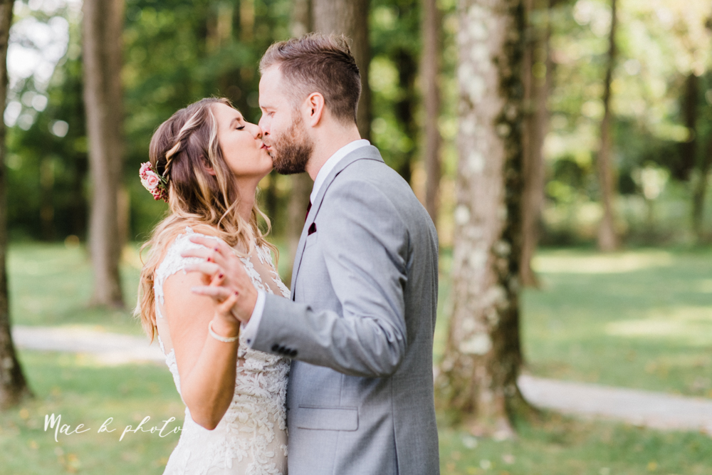 lauren and steve's romantic elegant sophisticated middle of the woods summer barn wedding at the grand barn event center in the mohicans in glenmont ohio photographed by youngstown wedding photographer mae b photo-35.jpg