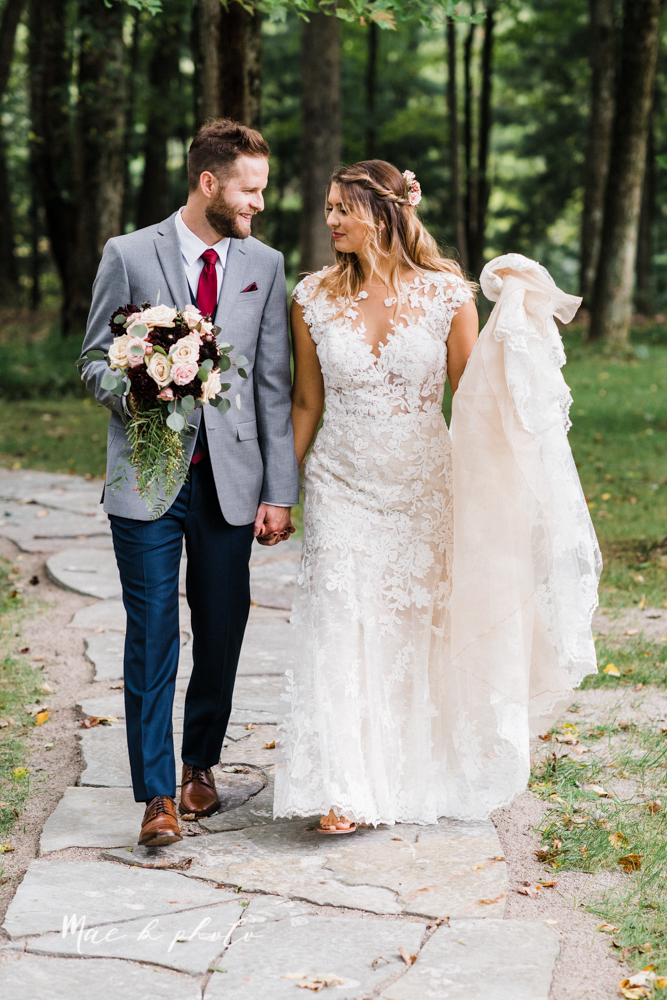 lauren and steve's romantic elegant sophisticated middle of the woods summer barn wedding at the grand barn event center in the mohicans in glenmont ohio photographed by youngstown wedding photographer mae b photo-45.jpg
