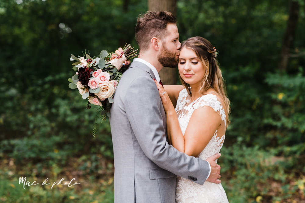 lauren and steve's romantic elegant sophisticated middle of the woods summer barn wedding at the grand barn event center in the mohicans in glenmont ohio photographed by youngstown wedding photographer mae b photo-73.jpg