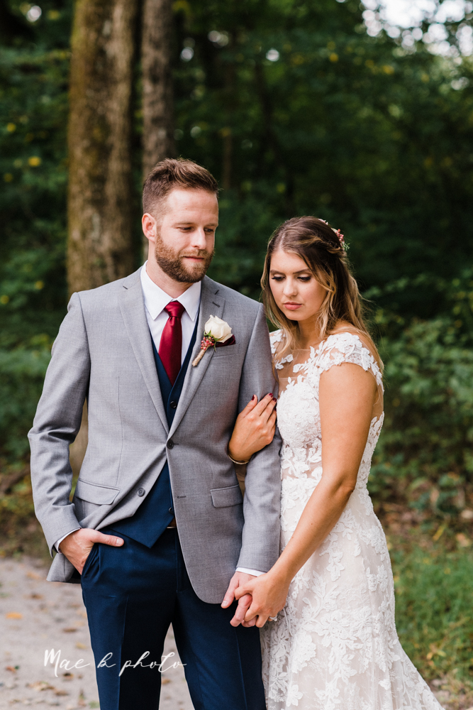 lauren and steve's romantic elegant sophisticated middle of the woods summer barn wedding at the grand barn event center in the mohicans in glenmont ohio photographed by youngstown wedding photographer mae b photo-77.jpg