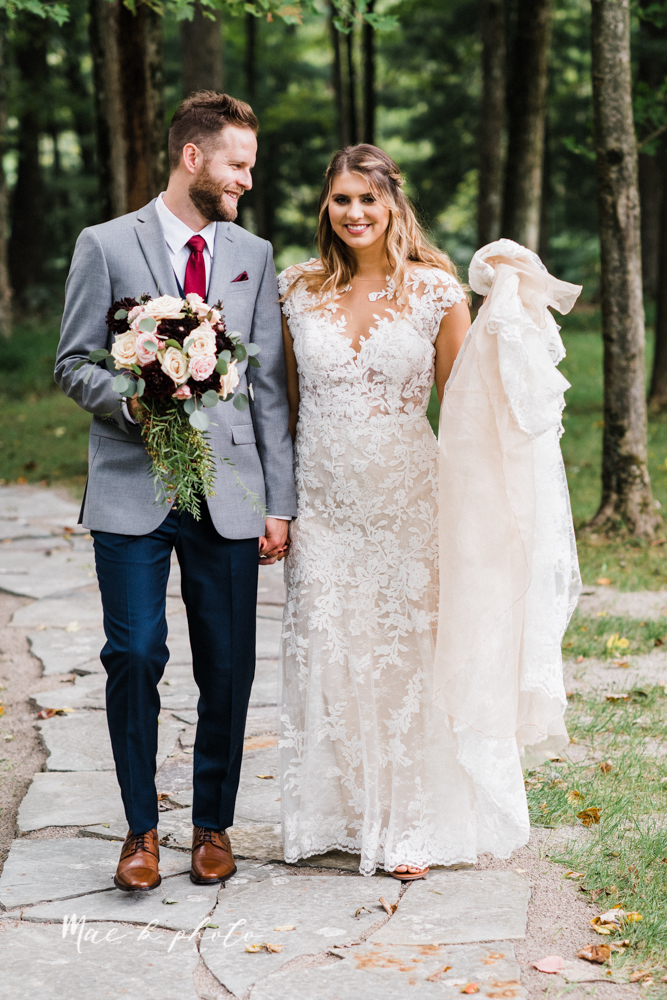 lauren and steve's romantic elegant sophisticated middle of the woods summer barn wedding at the grand barn event center in the mohicans in glenmont ohio photographed by youngstown wedding photographer mae b photo-46.jpg