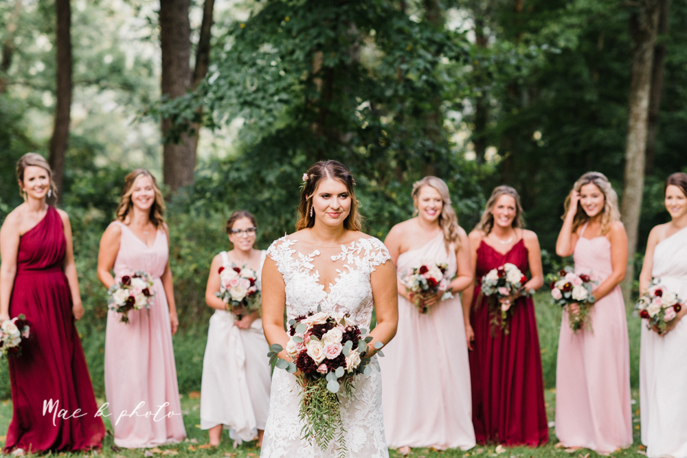 lauren and steve's romantic elegant sophisticated middle of the woods summer barn wedding at the grand barn event center in the mohicans in glenmont ohio photographed by youngstown wedding photographer mae b photo-58.jpg