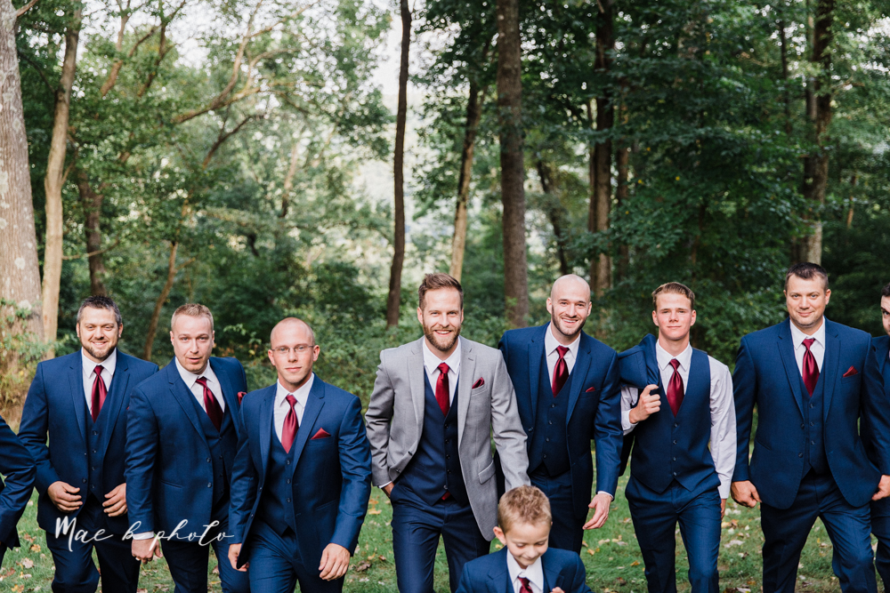 lauren and steve's romantic elegant sophisticated middle of the woods summer barn wedding at the grand barn event center in the mohicans in glenmont ohio photographed by youngstown wedding photographer mae b photo-221.jpg