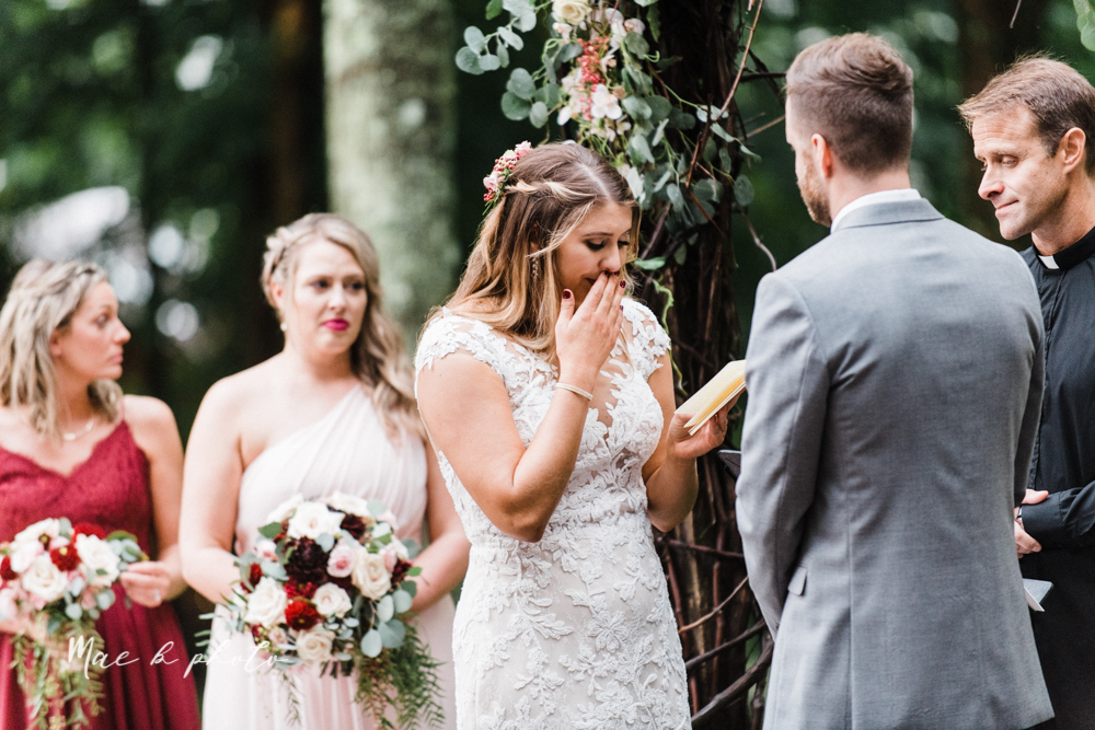 lauren and steve's romantic elegant sophisticated middle of the woods summer barn wedding at the grand barn event center in the mohicans in glenmont ohio photographed by youngstown wedding photographer mae b photo-148.jpg