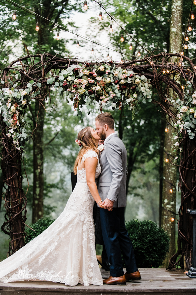 lauren and steve's romantic elegant sophisticated middle of the woods summer barn wedding at the grand barn event center in the mohicans in glenmont ohio photographed by youngstown wedding photographer mae b photo-152.jpg
