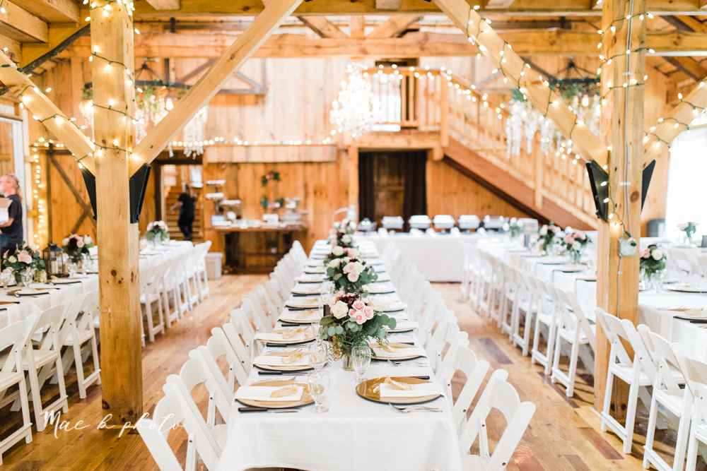lauren and steve's romantic elegant sophisticated middle of the woods summer barn wedding at the grand barn event center in the mohicans in glenmont ohio photographed by youngstown wedding photographer mae b photo-233.jpg