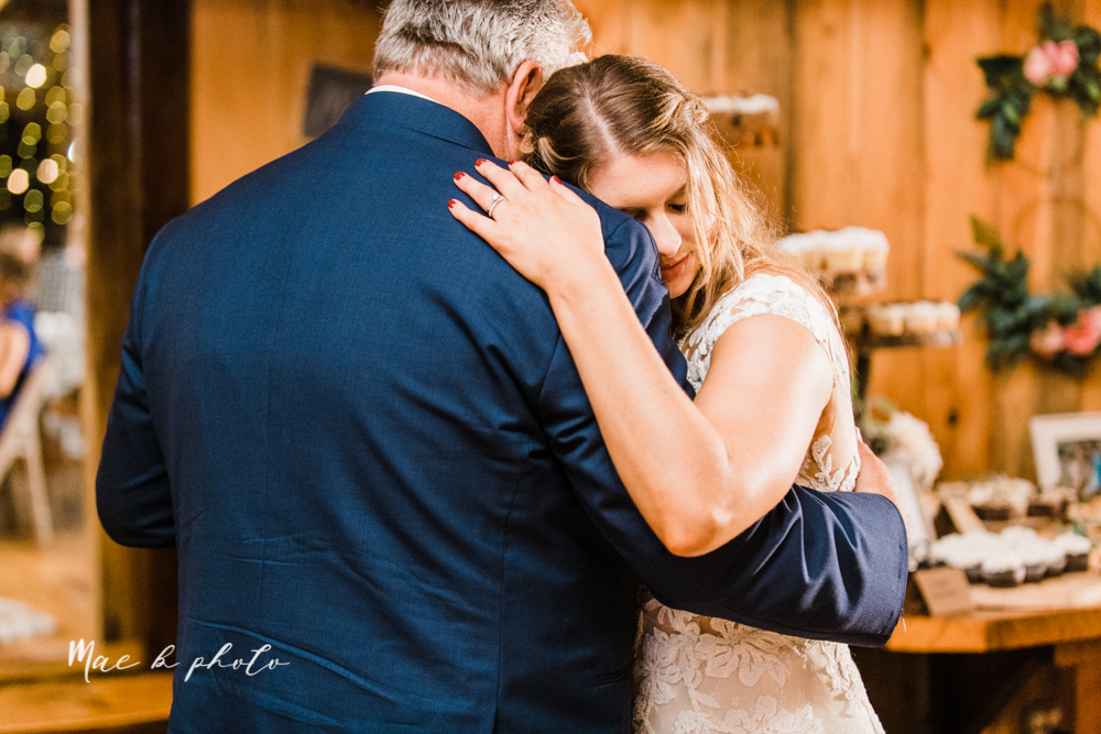 lauren and steve's romantic elegant sophisticated middle of the woods summer barn wedding at the grand barn event center in the mohicans in glenmont ohio photographed by youngstown wedding photographer mae b photo-162.jpg