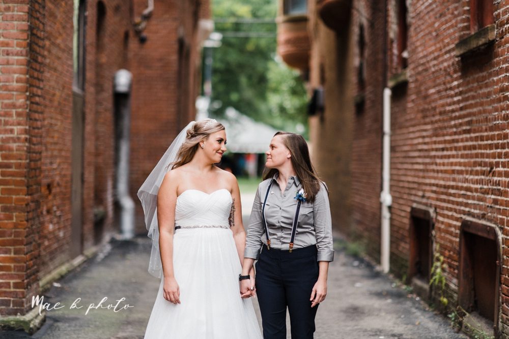 megan and angie's summer disney wedding at union tower and the hippodrome in warren ohio photographed by youngstown wedding photographer mae b photo-47.jpg