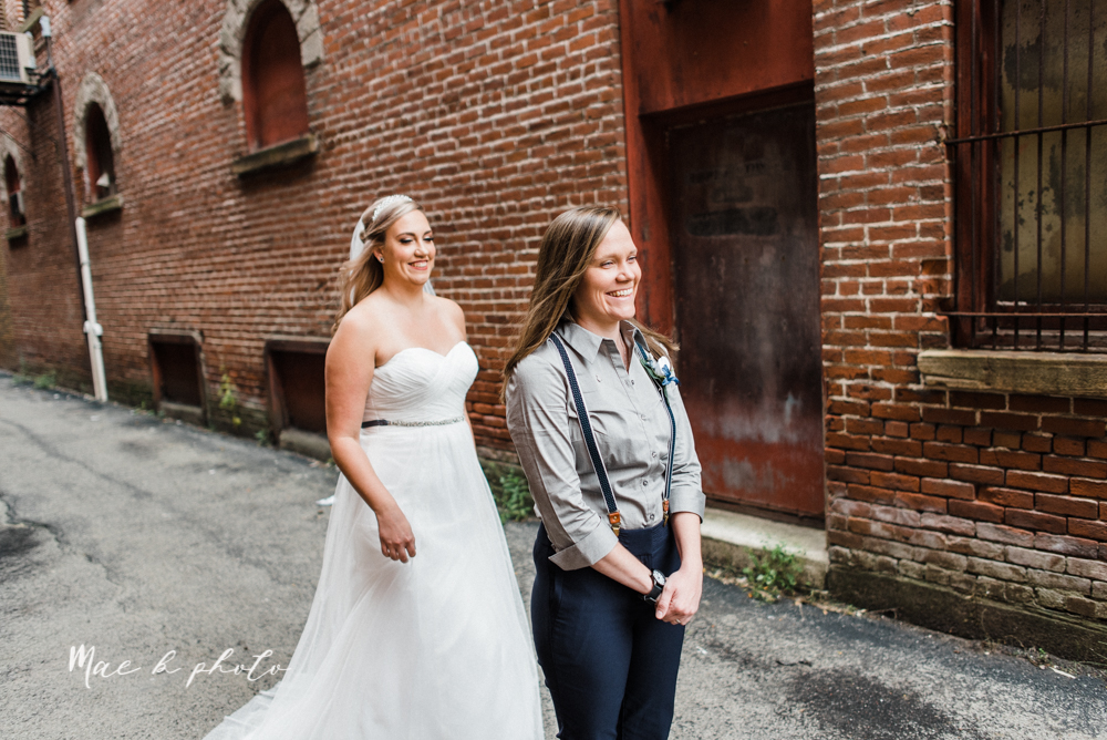 megan and angie's summer disney wedding at union tower and the hippodrome in warren ohio photographed by youngstown wedding photographer mae b photo-35.jpg