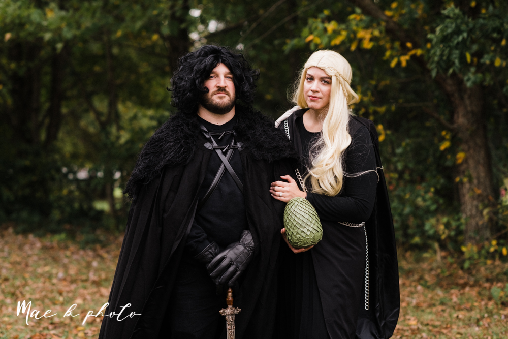 mae and lou's game of thrones fall october halloween pregnancy announcement with dog halloween dragon costumes diy dog costumes diy dragon costumes and daenerys targaryen mother of dragons dragon eggs and jon snow king of the north-4.jpg