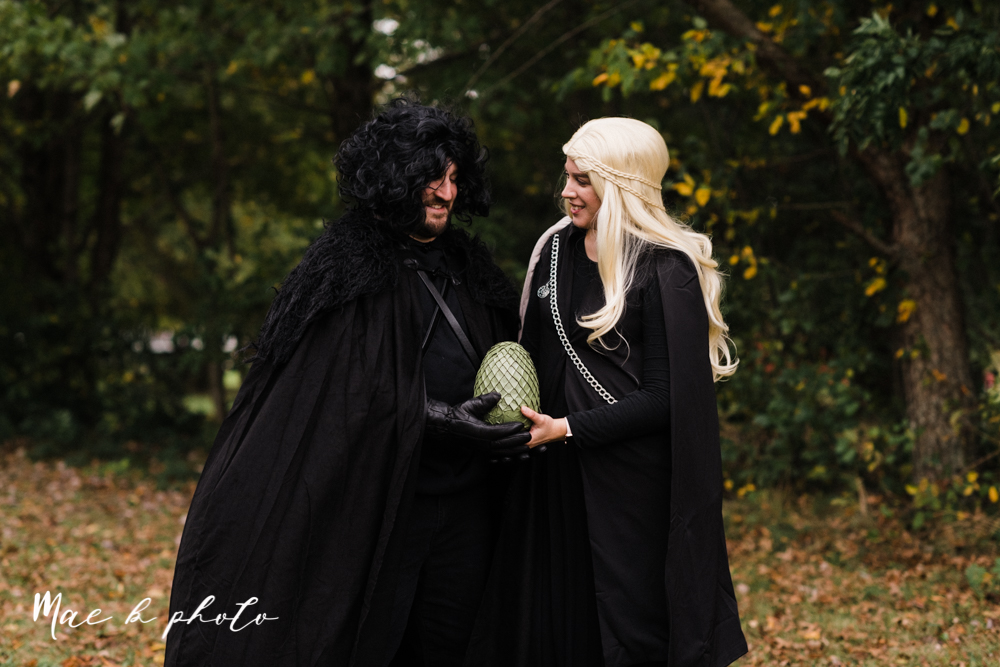 mae and lou's game of thrones fall october halloween pregnancy announcement with dog halloween dragon costumes diy dog costumes diy dragon costumes and daenerys targaryen mother of dragons dragon eggs and jon snow king of the north-7.jpg