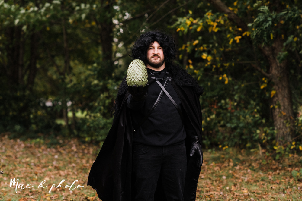 mae and lou's game of thrones fall october halloween pregnancy announcement with dog halloween dragon costumes diy dog costumes diy dragon costumes and daenerys targaryen mother of dragons dragon eggs and jon snow king of the north-9.jpg
