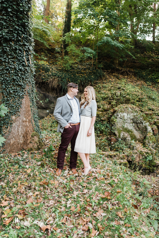 courtney and andy's vintage fall engagement session in mill creek park at pioneer pavilion and lake glacier in youngstown ohio photographed by youngstown wedding photographer mae b photo-2.jpg