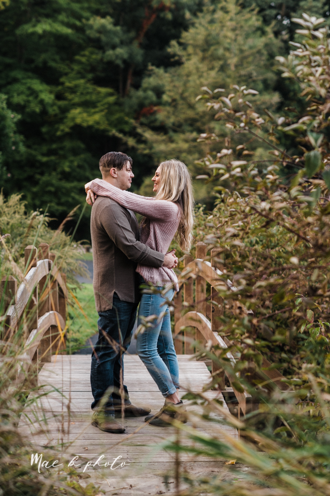 courtney and andy's vintage fall engagement session in mill creek park at pioneer pavilion and lake glacier in youngstown ohio photographed by youngstown wedding photographer mae b photo-34.jpg