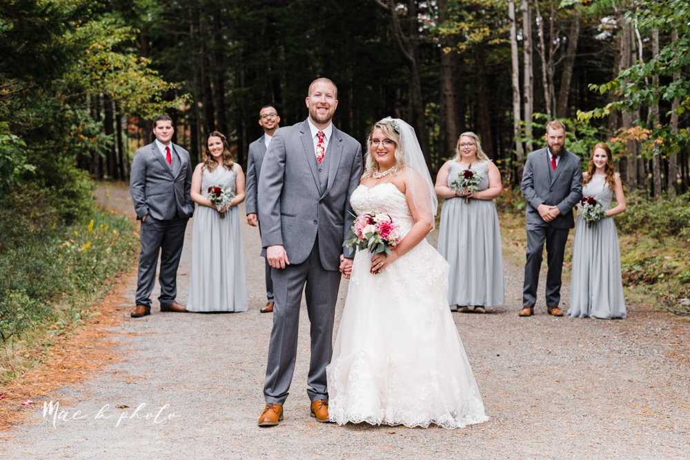 lyndsay and nate's intimate unique untraditional fall acadia national park elopement at eagle lake and cadillac mountain in bar harbor maine and honeymoon sunrise session at otter cliff photographed by youngstown wedding photographer mae b photo-114.jpg