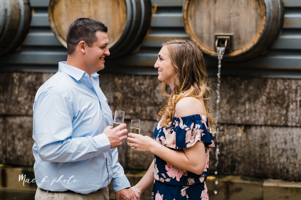 erin and shawn's fall Cleveland winery engagement session at sapphire creek winery photographed by youngstown wedding photographer mae b photo-8.jpg