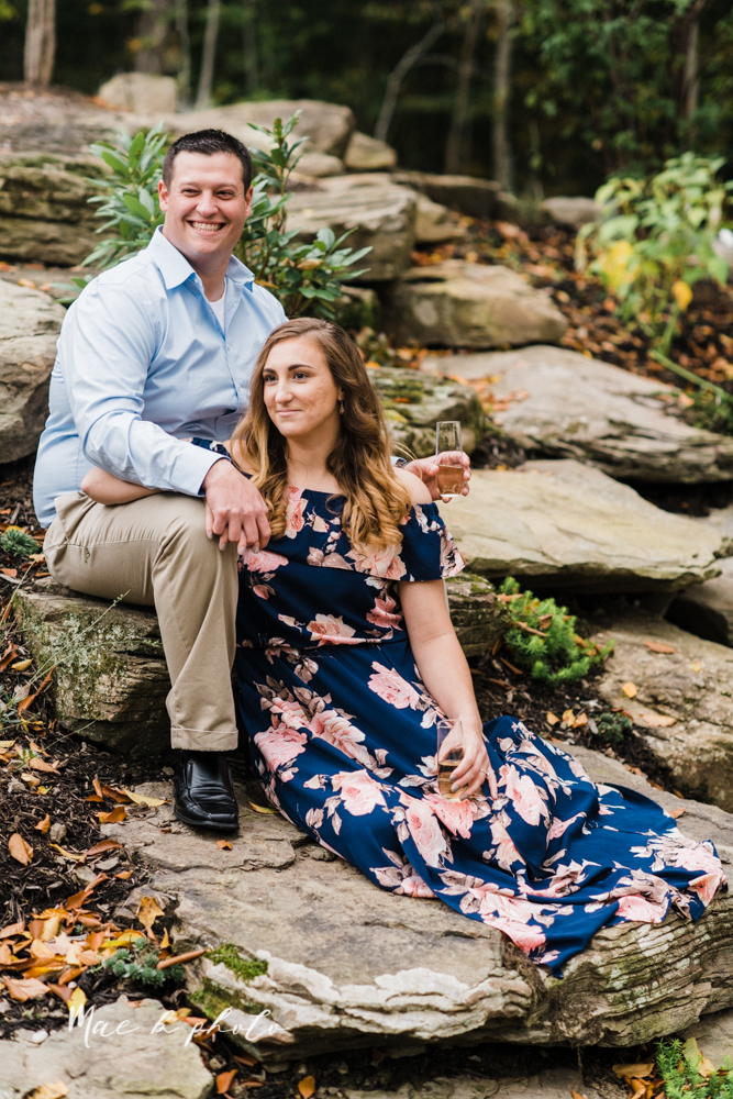 erin and shawn's fall Cleveland winery engagement session at sapphire creek winery photographed by youngstown wedding photographer mae b photo-29.jpg