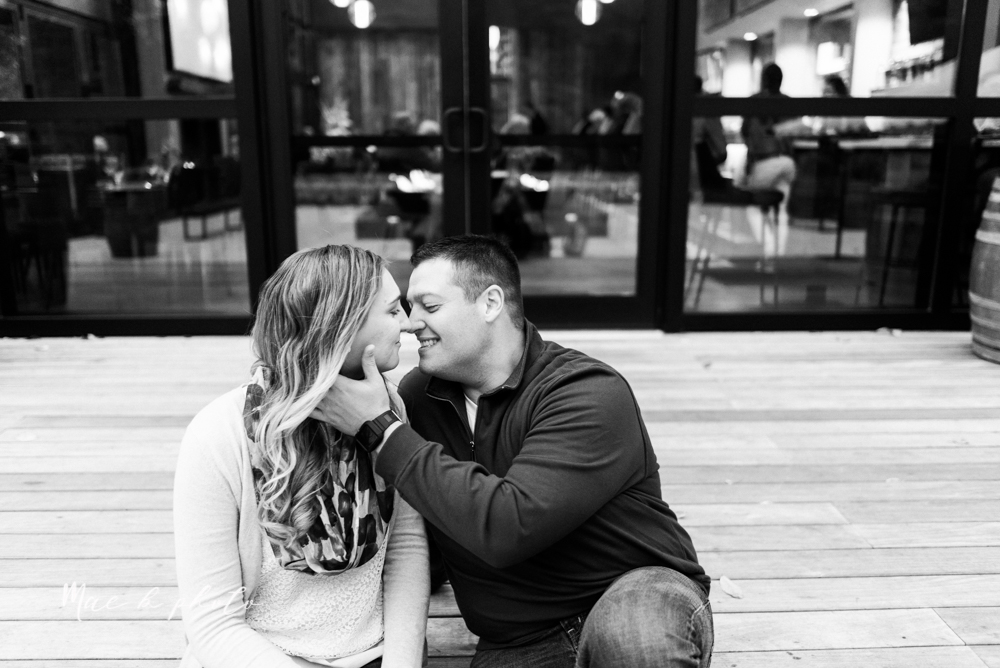 erin and shawn's fall Cleveland winery engagement session at sapphire creek winery photographed by youngstown wedding photographer mae b photo-44.jpg
