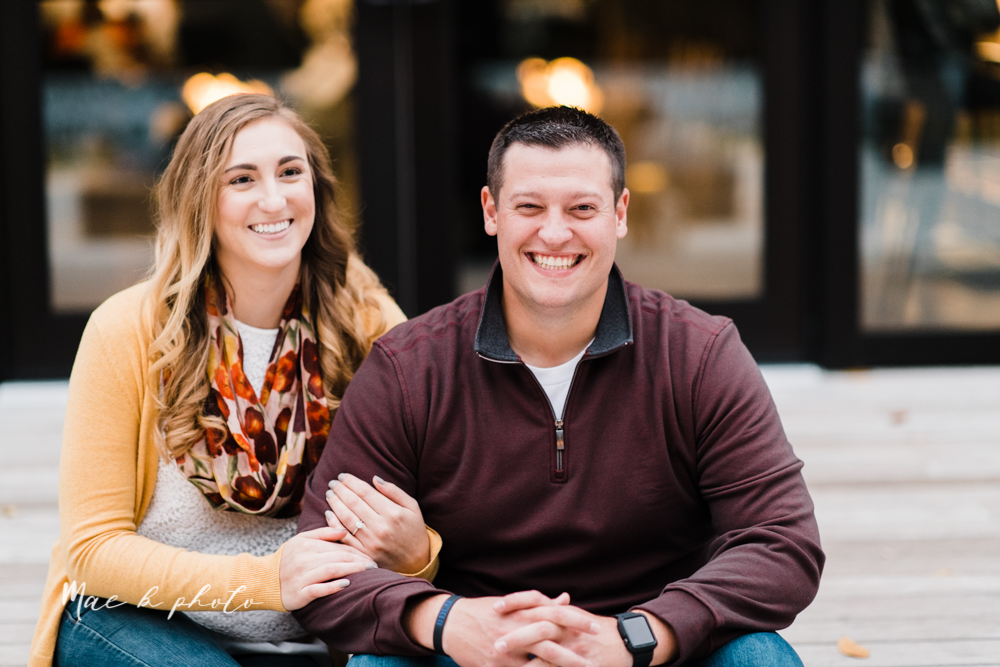 erin and shawn's fall Cleveland winery engagement session at sapphire creek winery photographed by youngstown wedding photographer mae b photo-42.jpg