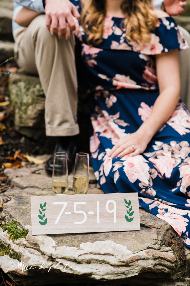 erin and shawn's fall Cleveland winery engagement session at sapphire creek winery photographed by youngstown wedding photographer mae b photo-30.jpg