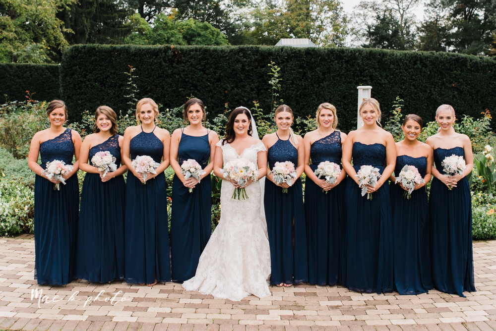 casey and matt's big fun italian fall wedding at st robert's church in cortland ohio and avion on the water in youngstown ohio and fellows riverside gardens in mill creek park photographed by youngstown wedding photographer mae b photo -111.jpg
