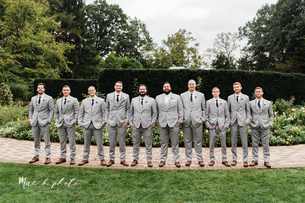 casey and matt's big fun italian fall wedding at st robert's church in cortland ohio and avion on the water in youngstown ohio and fellows riverside gardens in mill creek park photographed by youngstown wedding photographer mae b photo -121.jpg
