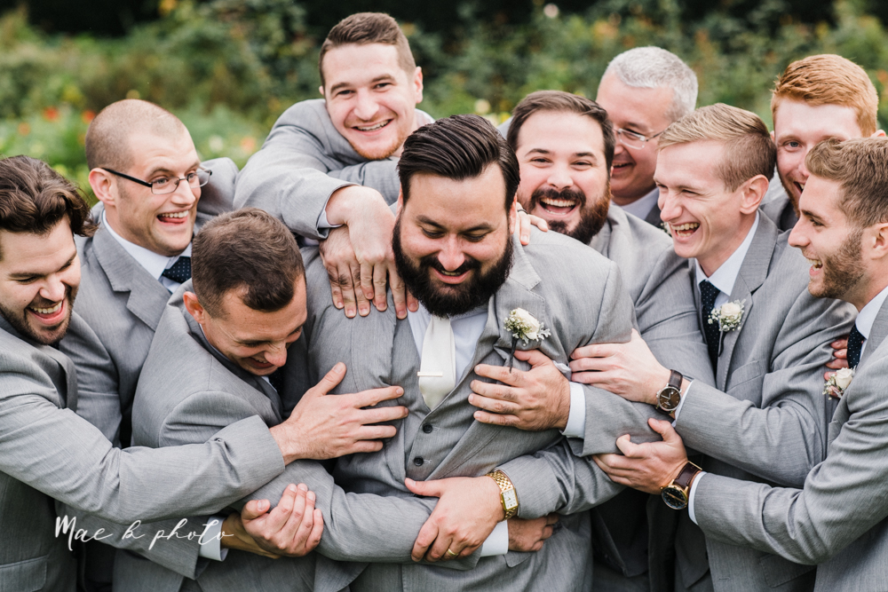 casey and matt's big fun italian fall wedding at st robert's church in cortland ohio and avion on the water in youngstown ohio and fellows riverside gardens in mill creek park photographed by youngstown wedding photographer mae b photo -128.jpg