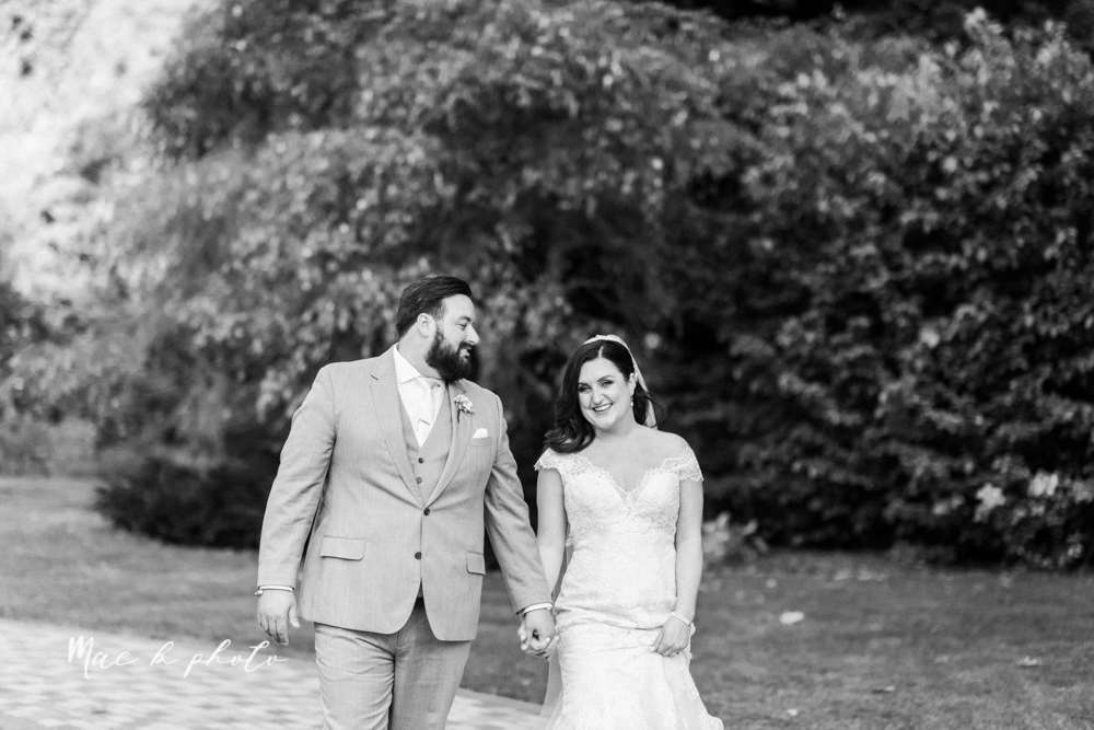 casey and matt's big fun italian fall wedding at st robert's church in cortland ohio and avion on the water in youngstown ohio and fellows riverside gardens in mill creek park photographed by youngstown wedding photographer mae b photo -163.jpg