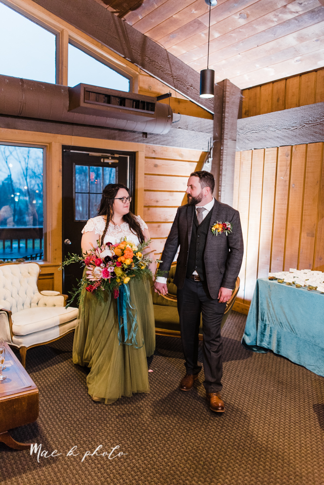 kaitlin and brad's offbeat winter harry potter the hobbit lord of the rings themed wedding at mapleside lodge in brunswick ohio photographed by youngstown wedding photographer mae b photo-61.jpg