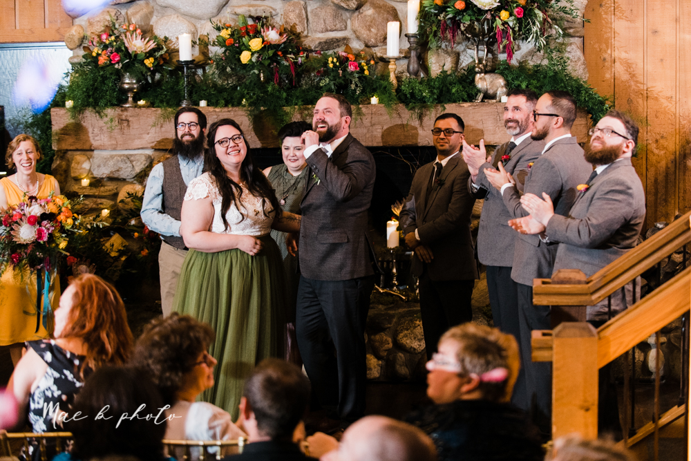 kaitlin and brad's offbeat winter harry potter the hobbit lord of the rings themed wedding at mapleside lodge in brunswick ohio photographed by youngstown wedding photographer mae b photo-94.jpg
