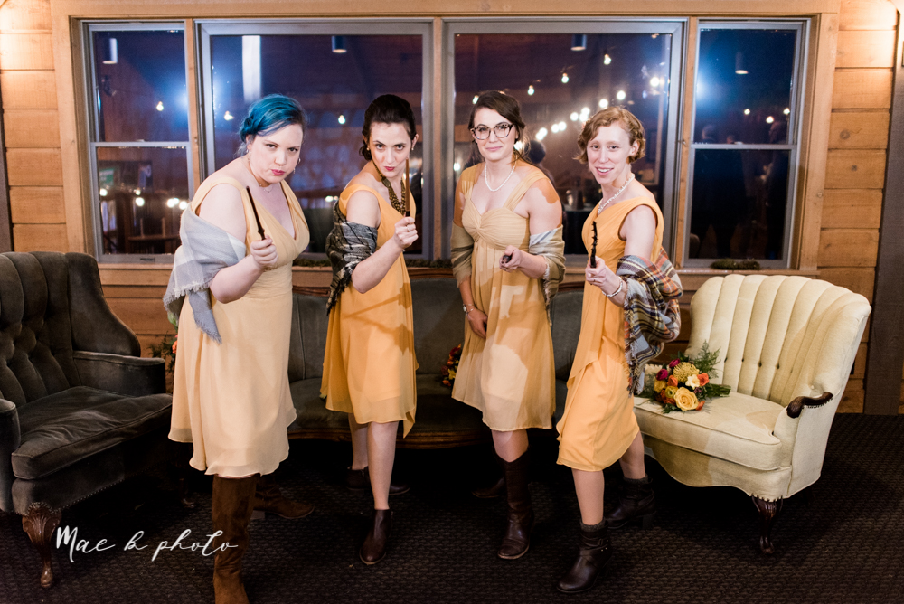 kaitlin and brad's offbeat winter harry potter the hobbit lord of the rings themed wedding at mapleside lodge in brunswick ohio photographed by youngstown wedding photographer mae b photo-80.jpg
