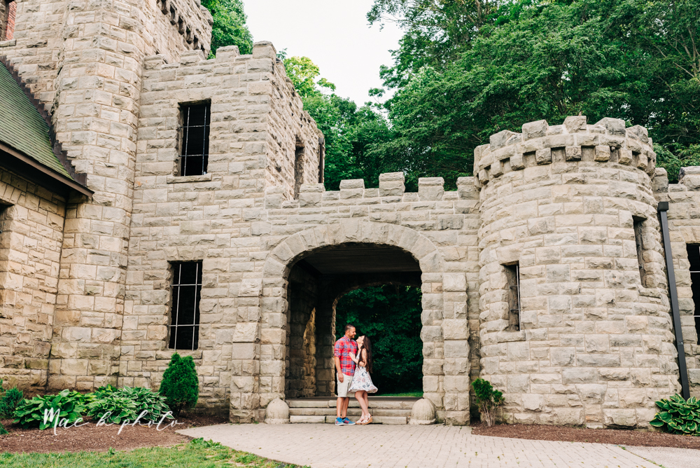 Tim and Margarita's Castle Engagement Session at Squire's