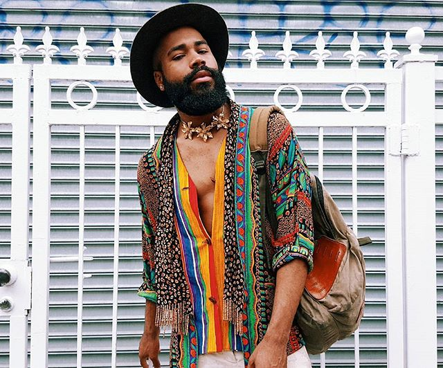 When you sport your Saturday look on a Sunday ■👑 🌻■ #OurRevolution #paris #Design #mensfashion #singers #mensstyle #instagay #paris #instagood #art #artist #travel #France #streetstyle #afropunk #newmusic #music #hiphop #triphop #musicvideo #poet #poetry #rap #performanceart #afropunkparis #NYC #NewYork #beard #blackboyjoy #digitalart