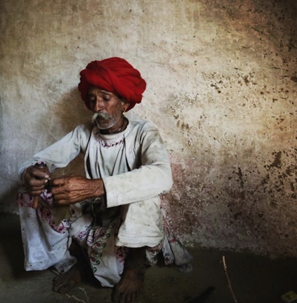India: Man in the Red Turban
