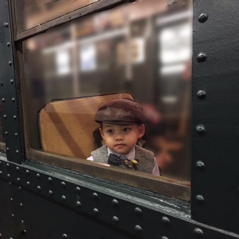Boy on the Nostalgia Train