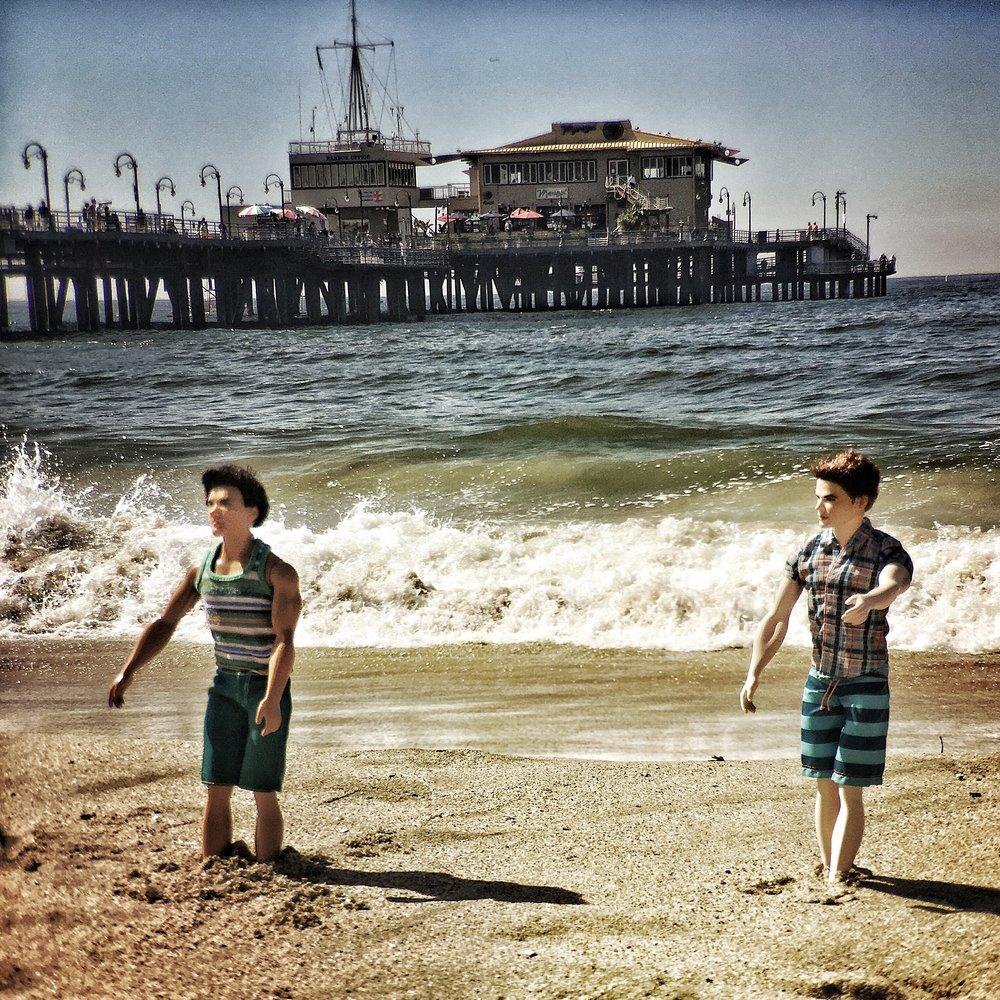 Kens at the Beach